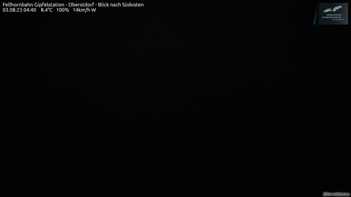 Webcam Fellhornbahn Gipfelstation