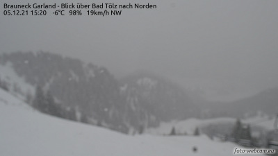 Webcam Brauneck-Bergstation