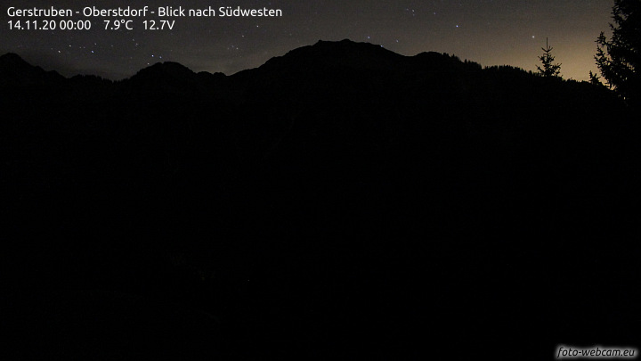 Webcam Gerstruben (Solarbetrieb-Bilder nur bei ausreichendem Tageslicht)