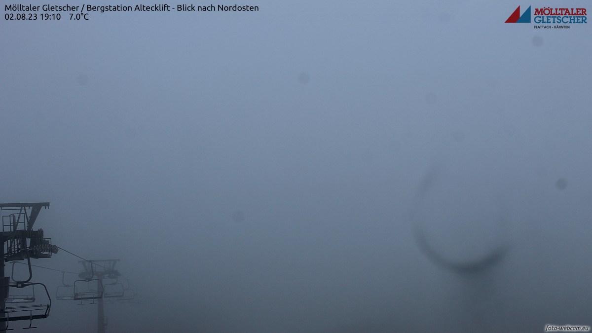 Webkamera ledovec Mölltal