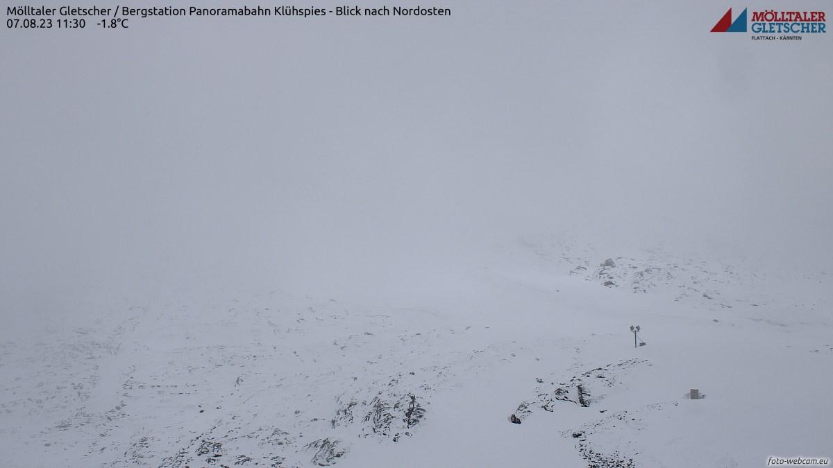 Webkamera Mölltal - ledovec a Mölltal-Ankogel