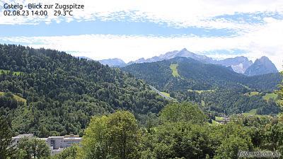 Zugspitze Gsteig Webcam