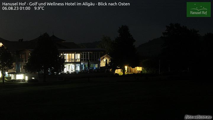 Webcam Hotel Hanusel Hof in 87480 Weitnau-Hellengerst