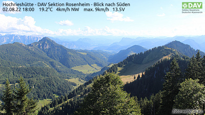 Webcam Hochries Süd