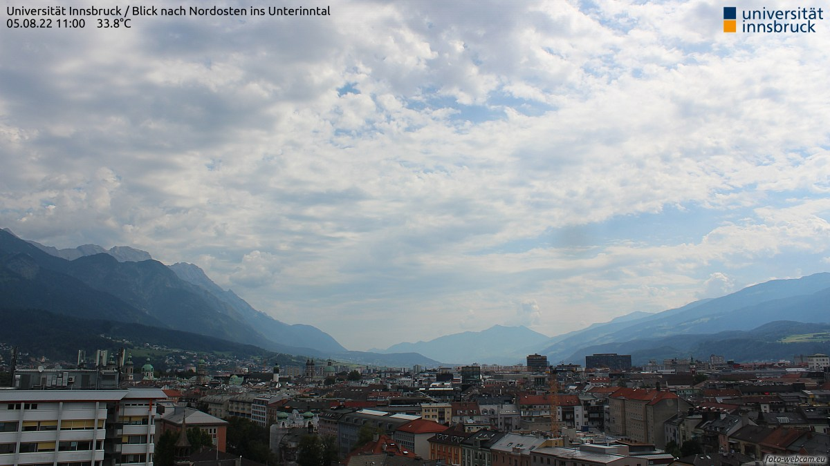 Webcam Universität Innsbruck