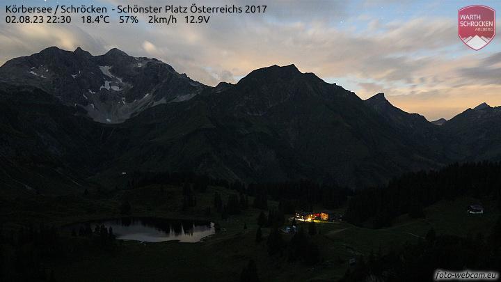 Körbersee, schönster Platz Österreichs 2017