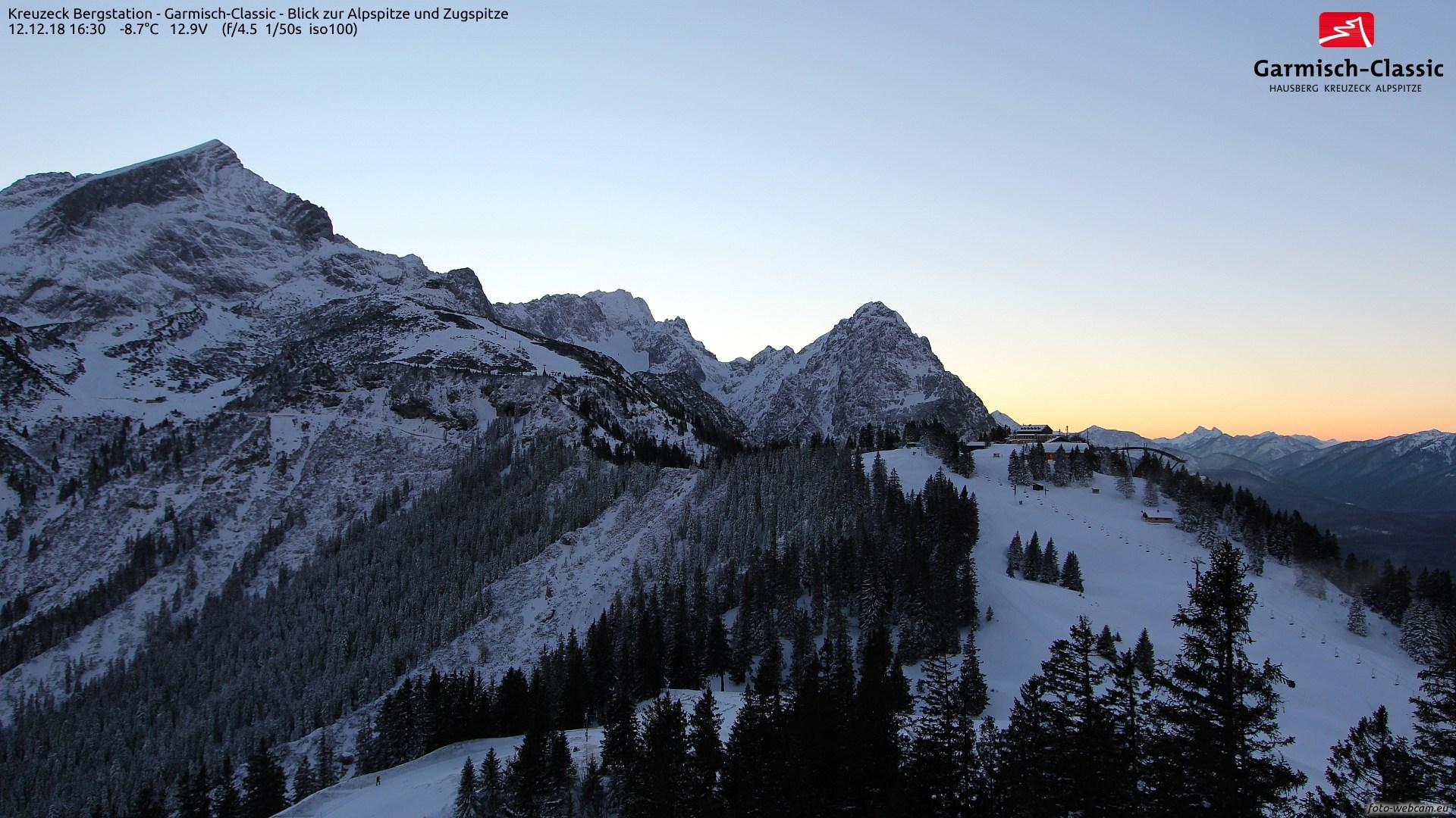 Webkamera Garmisch-Partenkirchen