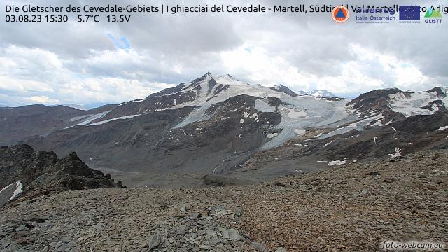 Gletscher Cevedale Gebiet