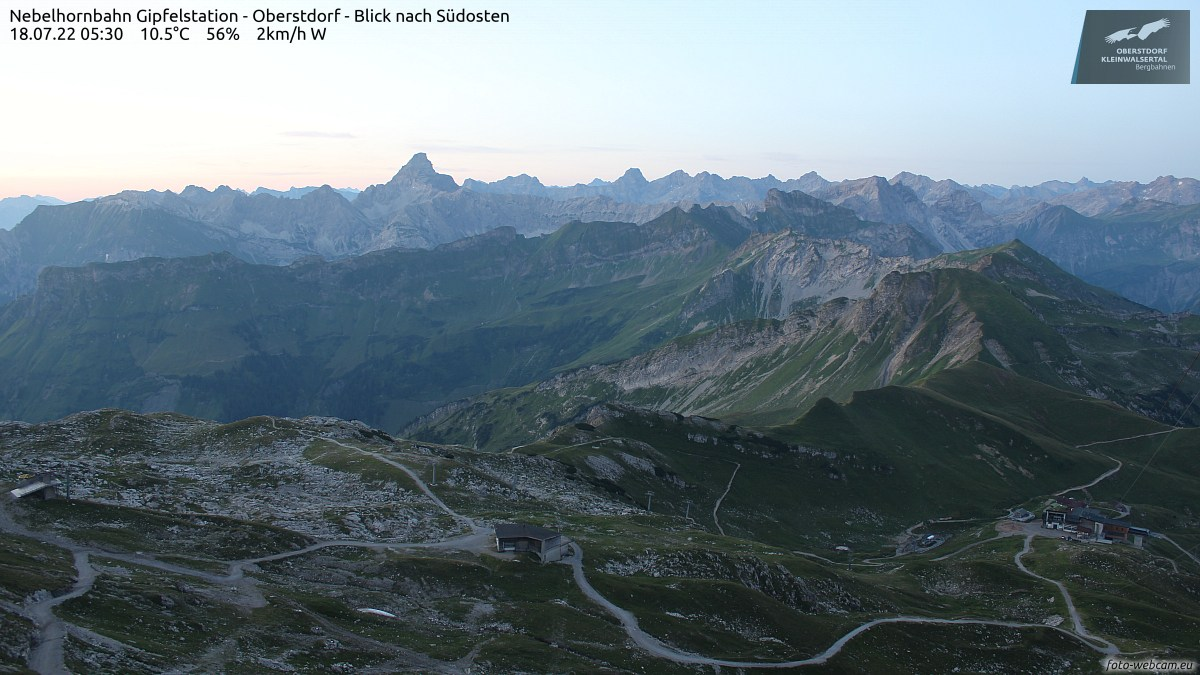 Webcam Nebelhorn