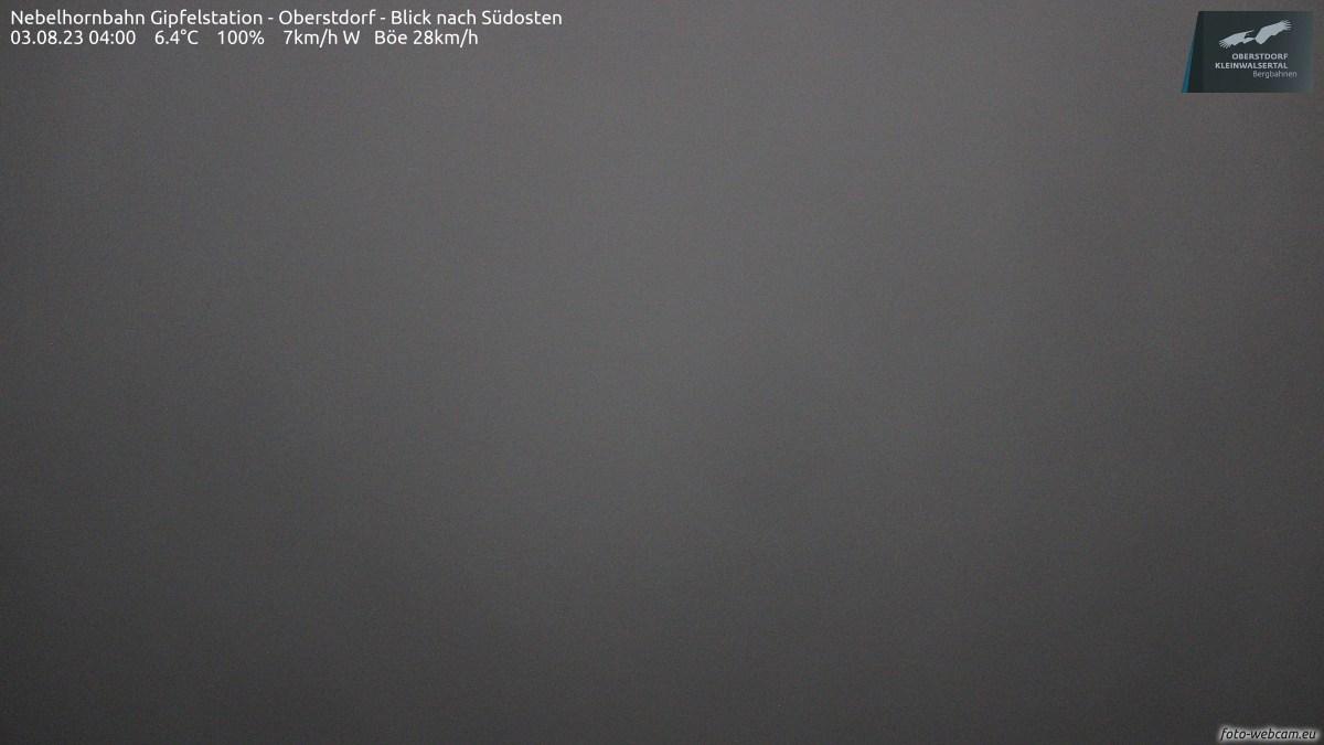 Webcam: Nebelhorn Gipfel