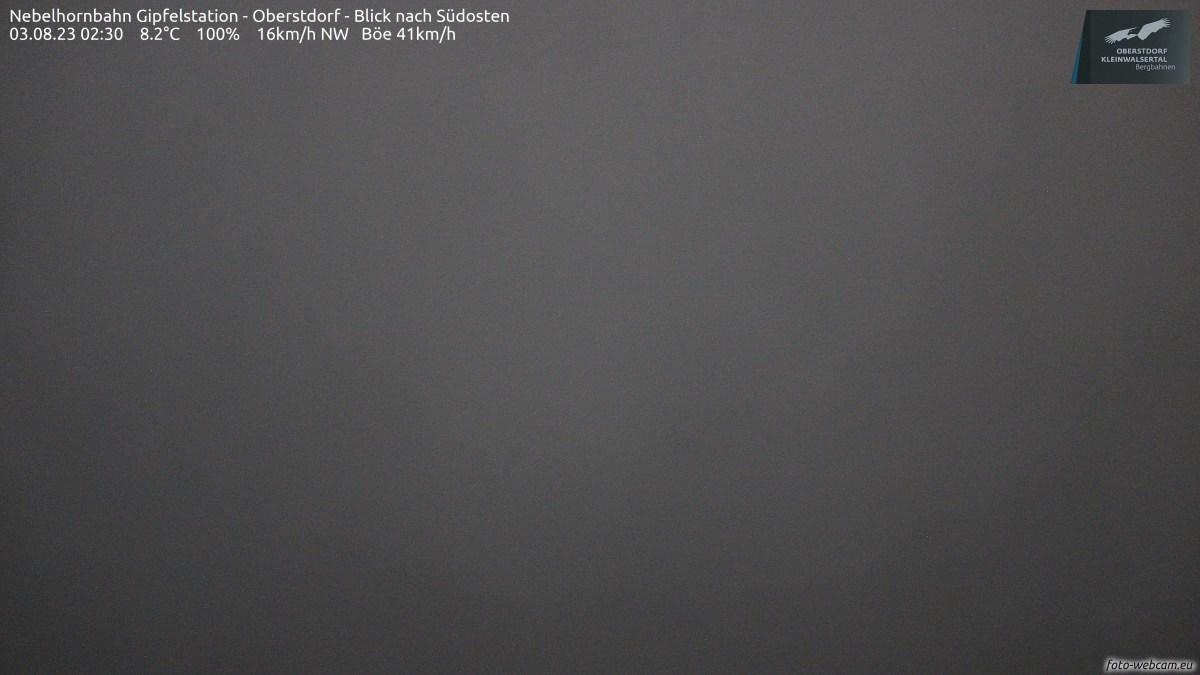 Webcam - Nebelhorn Gipfelstation