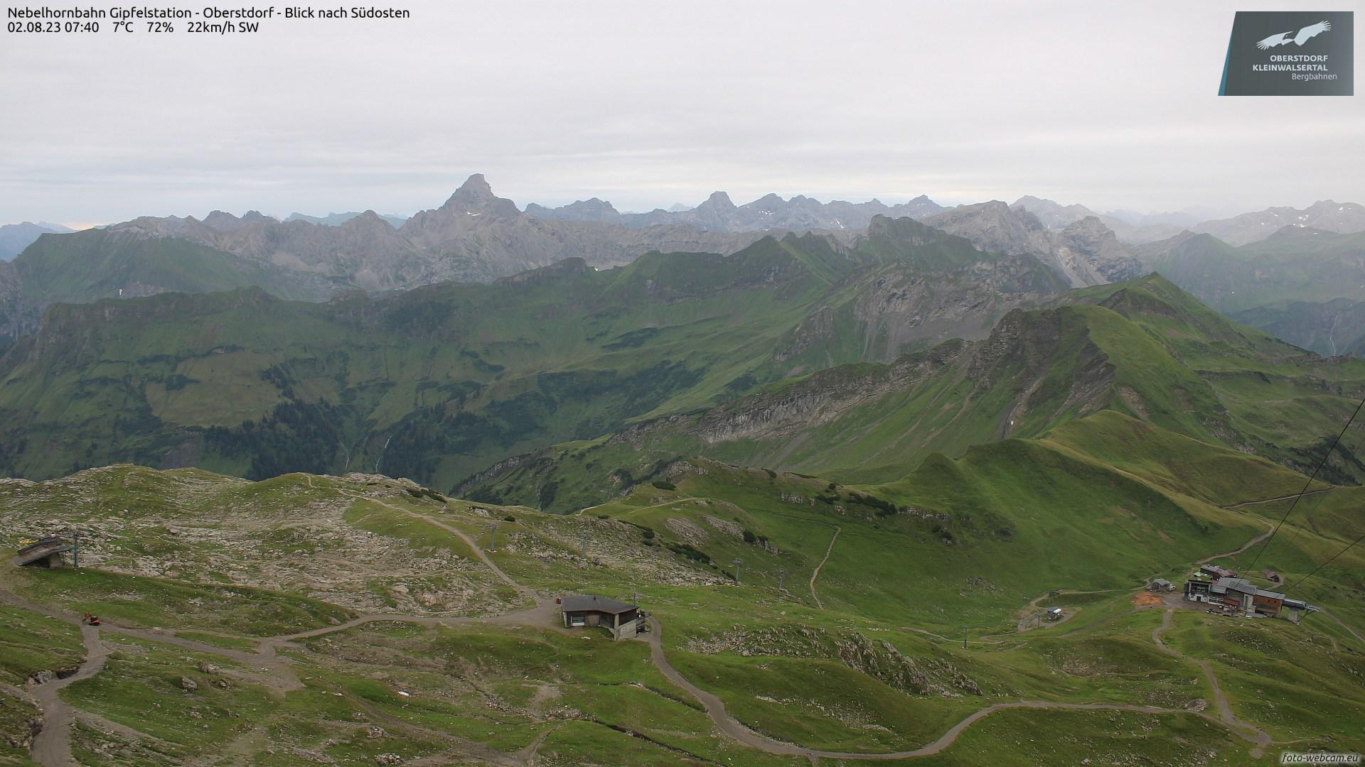 Nebelhorn-Gipfel