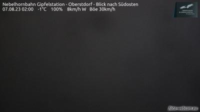 Nebelhorn Webcam