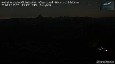 Webcam - Nebelhorn Gipfelstation