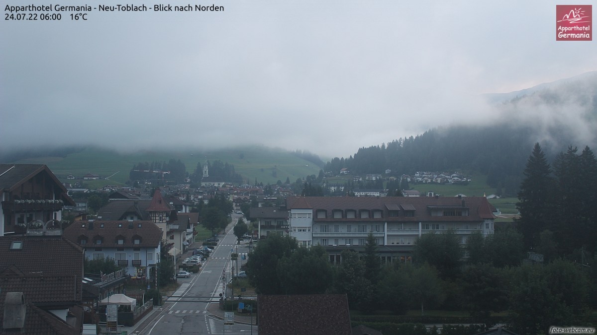 Foto-Webcam in Toblach - Apparthotel Germania