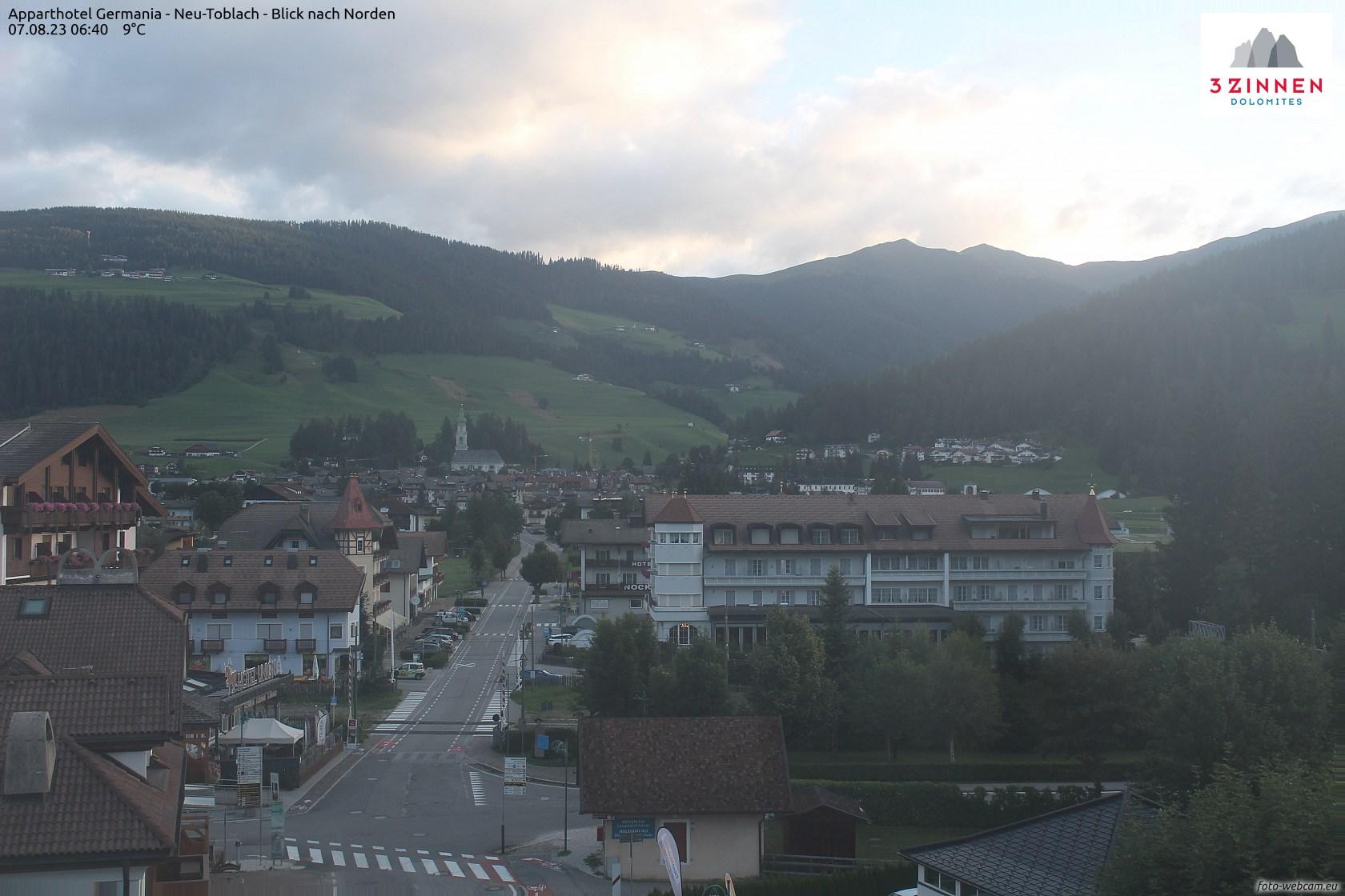 Webcam Dobbiaco 1.213 m. (Bz)