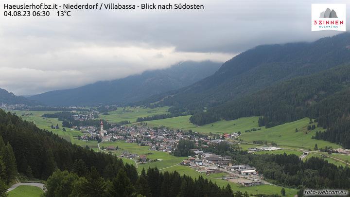 View towards Niederdorf/Villabassa