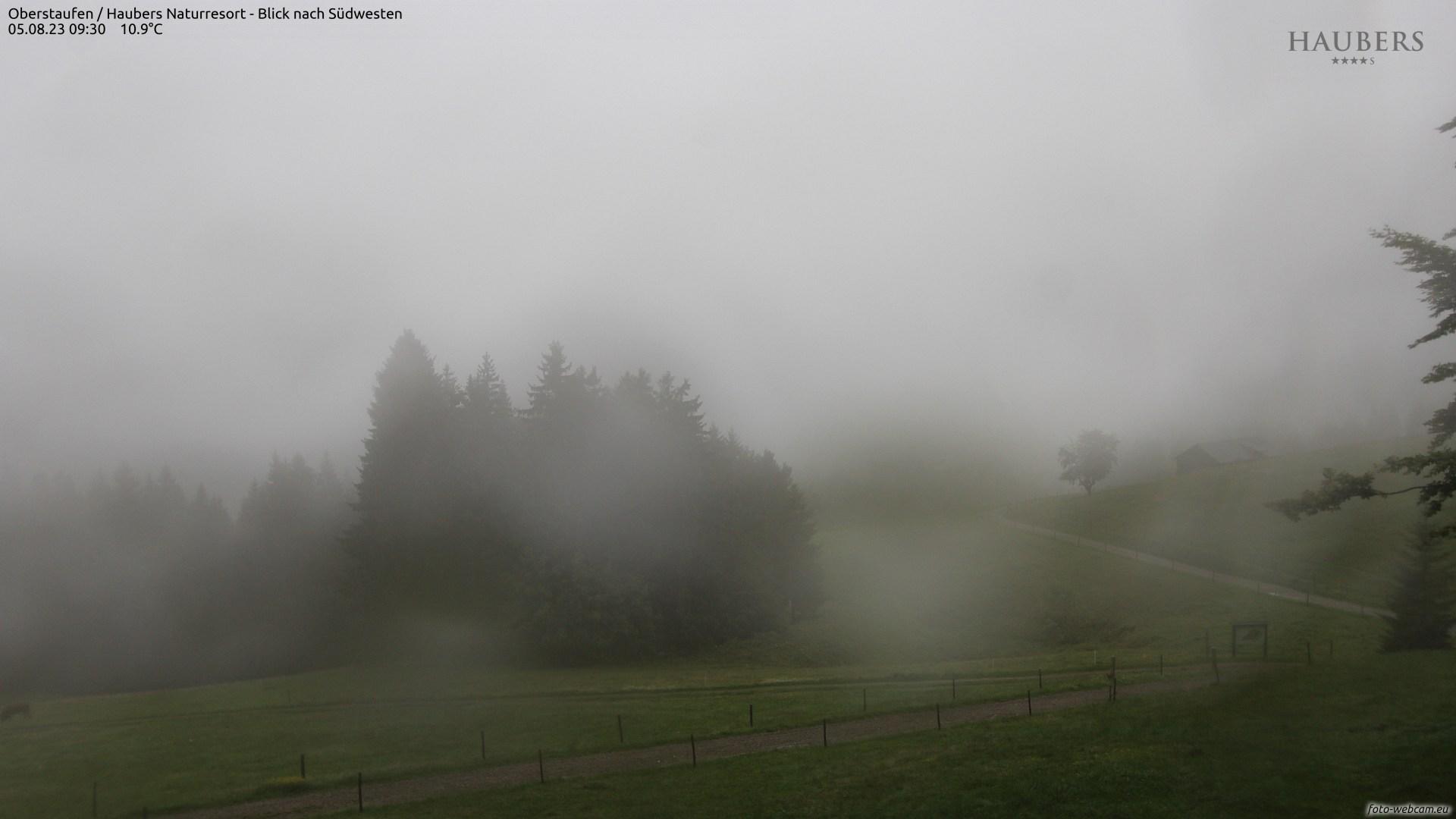 Haubers Alpenresort - Blick nach Südwesten