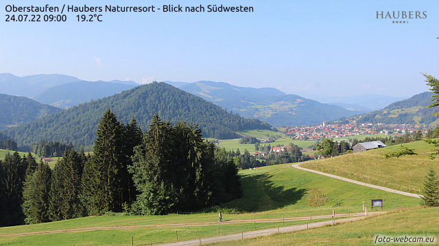 Webcam-Bild: Webcam - Haubers Alpenresort