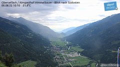 The camera is located at Almgasthof Himmelbauer in the municipality Obervellach on 1.281m above sea level.