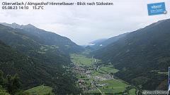 Die Kamera befindet sich beim Almgasthof Himmelbauer in der Gemeinde Obervellach auf 1.281m Seehöhe.