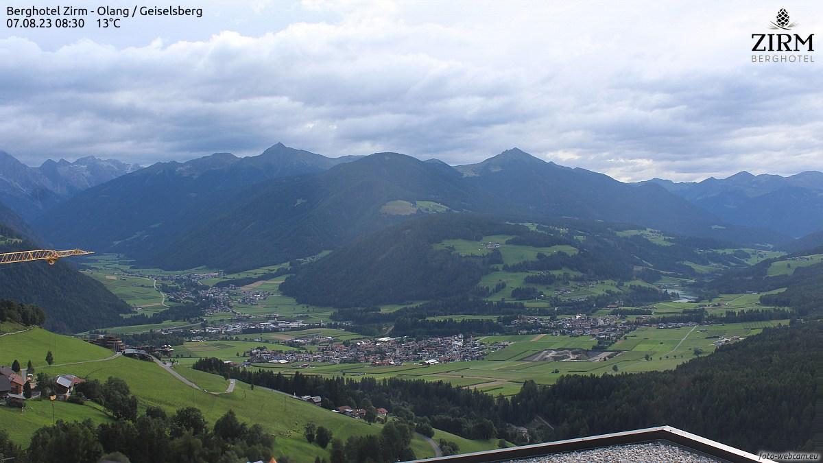 Foto-Webcam Geiselsberg-Olang / Sorafurcia-Valdaora