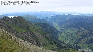 Gamskopf at 2.680m above sea level