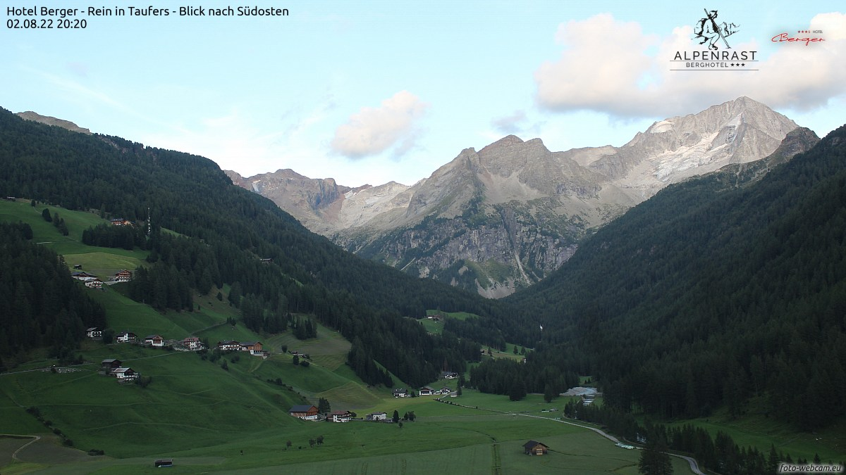 Foto-Webcam Rein in Taufers / Riva di Tures