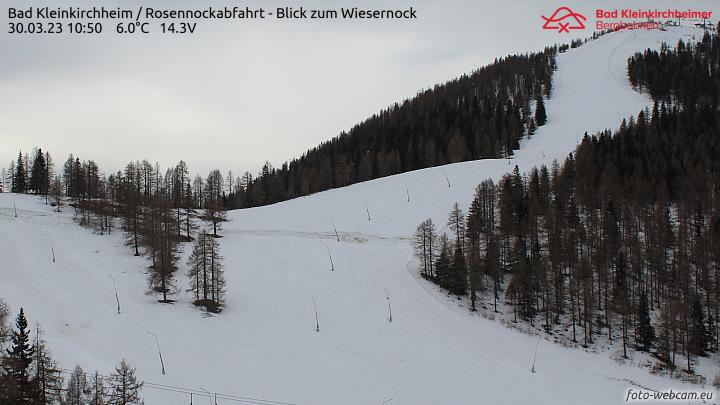 Webcam rosennockabfahrt