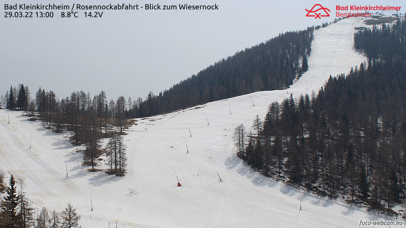 WEBkamera Bad Kleinkirchheim - Wiesernock