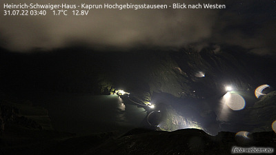 Webcam is installed at the Heinrich-Schwaiger-Haus.