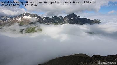 Webcam is installed at the Heinrich-Schwaiger-Haus.