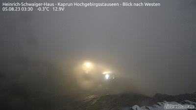 Webcam ist am Heinrich-Schwaiger-Haus angebracht.
