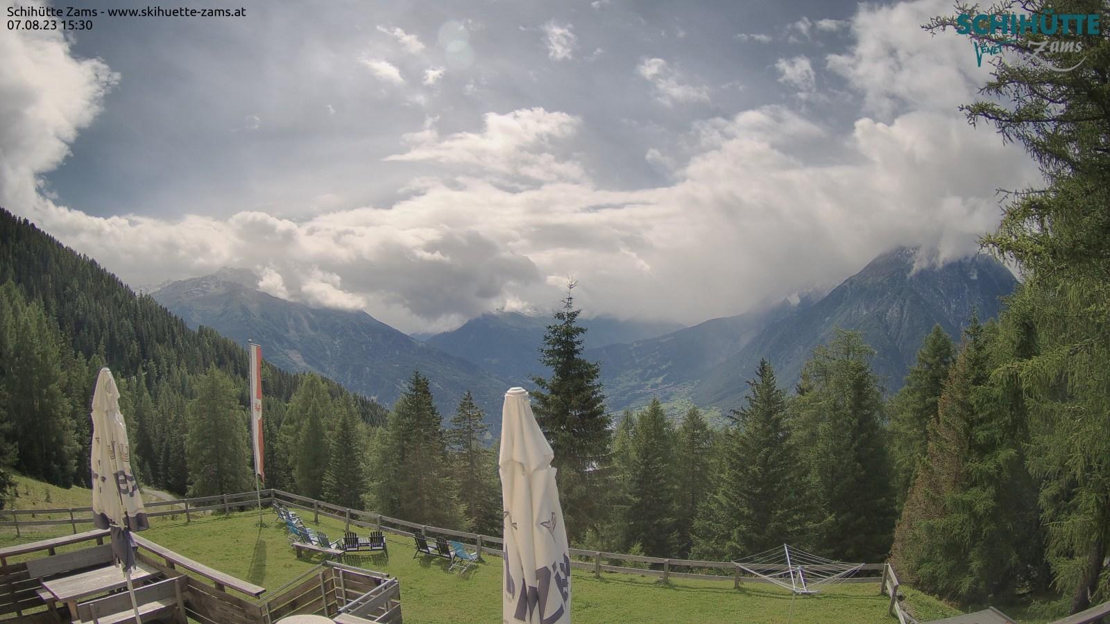 Webcam Landeck - Skihütte Zams
