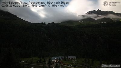 Das Naturfreunde-Haus Kolm-Saigurn (1600m Seehöhe)