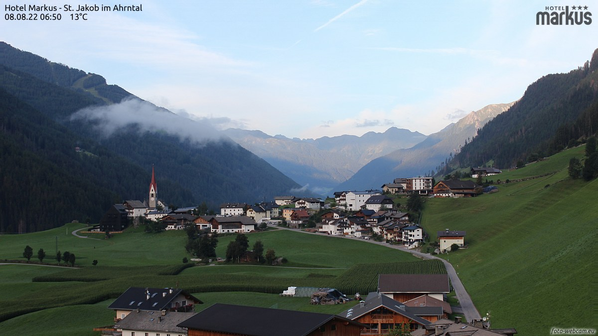 Webcam St. Jakob Ahrntal