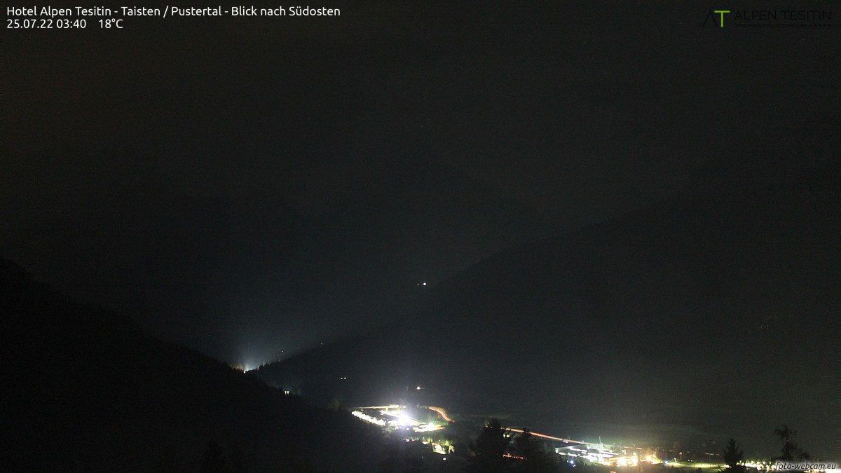 Foto-Webcam Taisten/Tesido Pustertal Valley