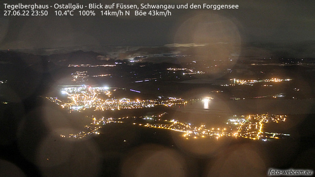 Webcam Tegelbergbahn