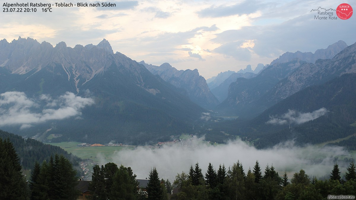 Foto-Webcam in Toblach / Dobbiaco