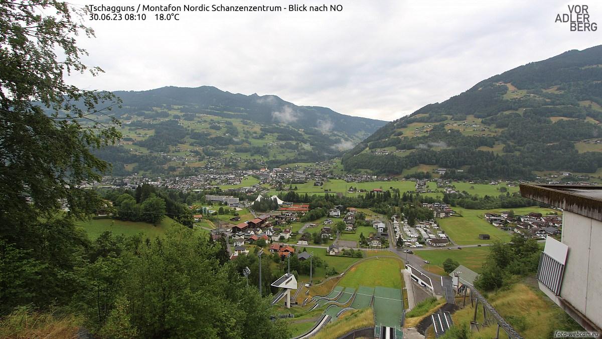Tschagguns / Montafon Nordic Schanzenzentrum Berg 775 m