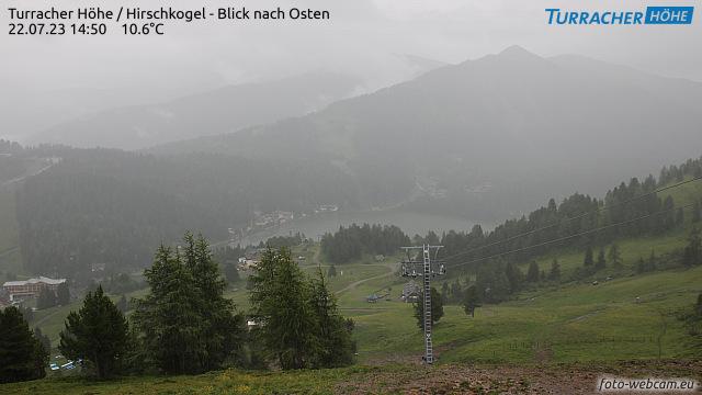 Turracher Höhe - Hirschkogel - pohled na východ