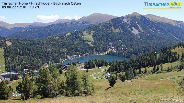 Webcam Turracher Höhe - Hirschkogel
