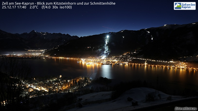 Snowkiten Webcam Zell am See