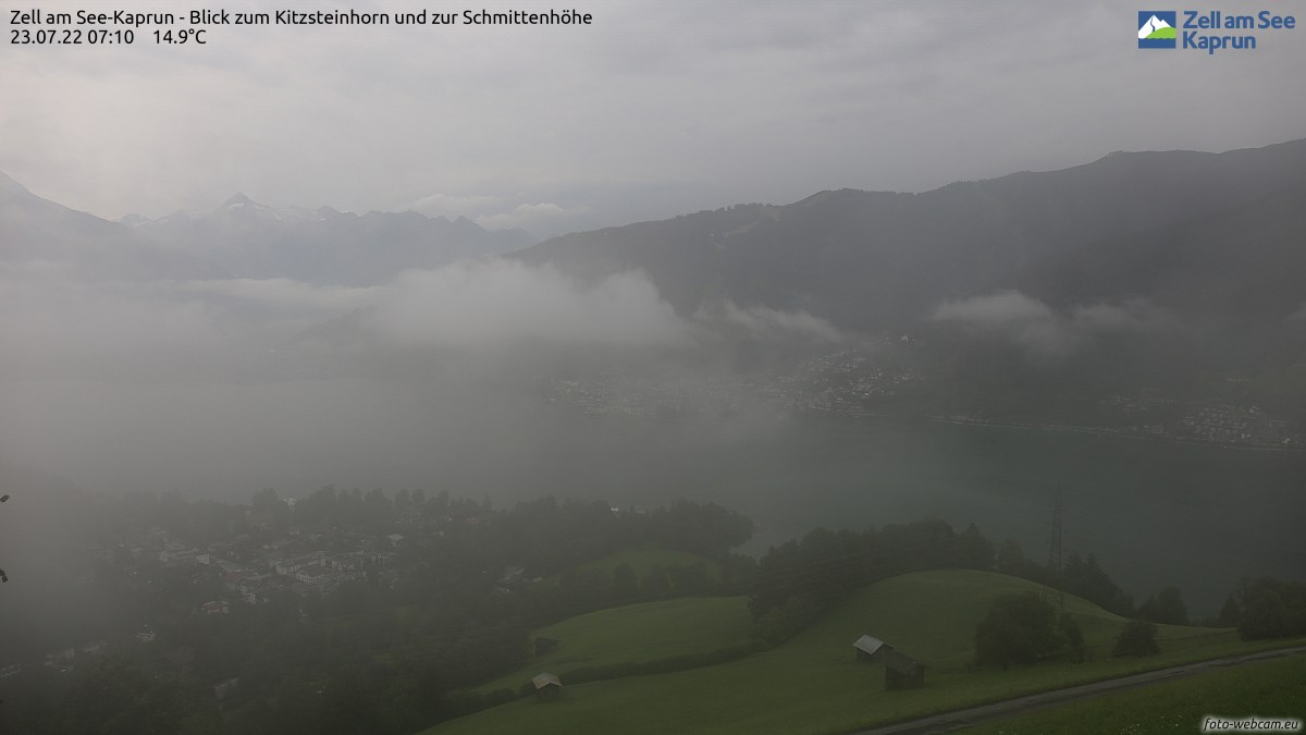 Zell am See - Kaprun webcam