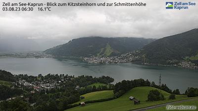 Die Webcam befindet sich am Mitterberg bei Thumersbach