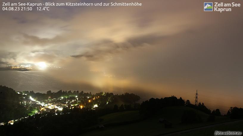 WEBkamera Zell am See - od severovýchodu