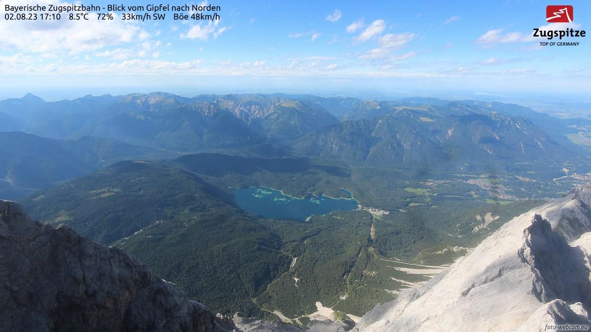 Webcam Zugspitze Nord