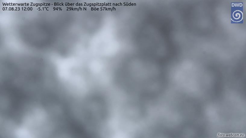 WEBkamera Zugspitze - Zugspitzplatt