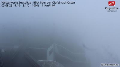 Zugspitze Gipfel Webcam